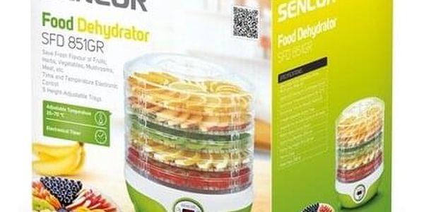 SENCOR SFD 851GR sušička ovoce2