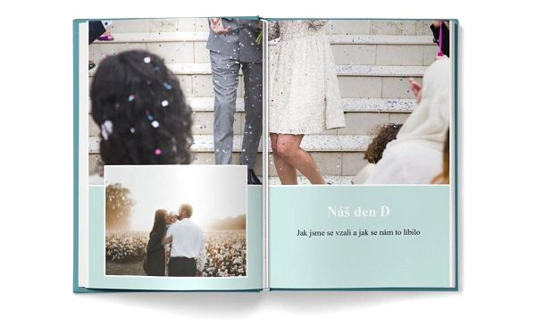 Fotokniha A4 - H17, 32 stran, pevná knižní vazba3