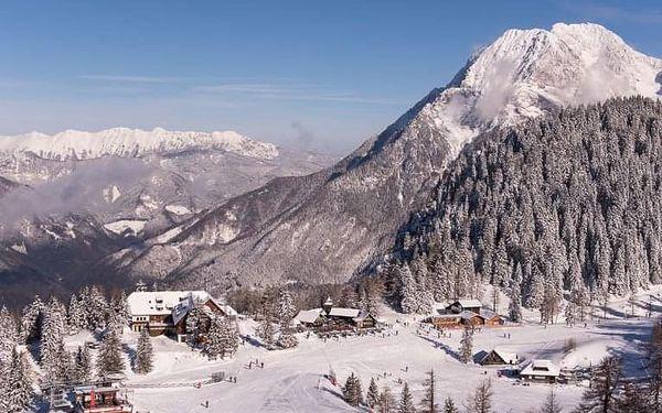 4denní Slovinsko se skipasem   Hotel Krvavec*** na sjezdovce   Polopenze, Wellness a skipas v ceně