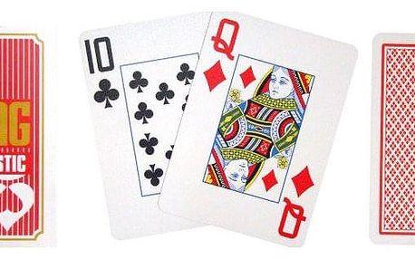 Copag Copag Jumbo 2077 Poker karty 2 rohy Red