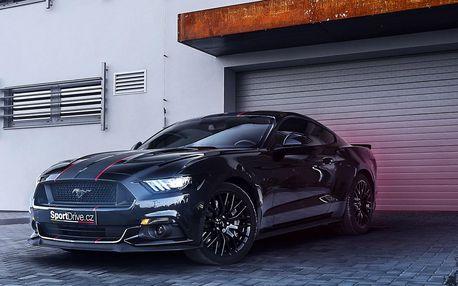 Usedněte za volant nabušeného Mustangu GT 5.0