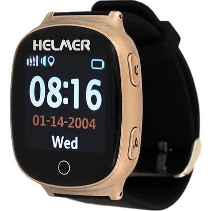 Helmer LK 705 pro seniory s GPS lokátorem bronzové (Helmer LK 705)