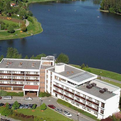Hotel Adamantino*** u Luhačovické přehrady s wellness