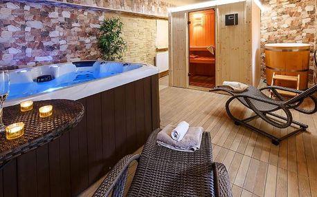 Relax v apartmánech na Šumavě se snídaní a wellness