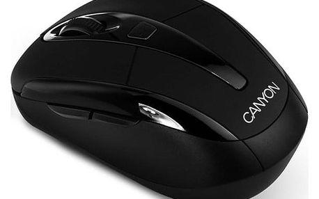 Myš Canyon CNR-MSOW06 černá (/ optická / 5 tlačítek / 1600dpi) (CNR-MSOW06B)