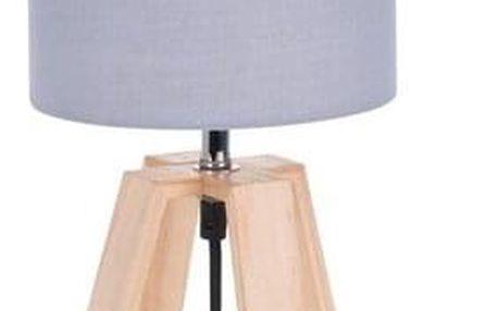 Koopman Stolní lampa Idaho, šedá