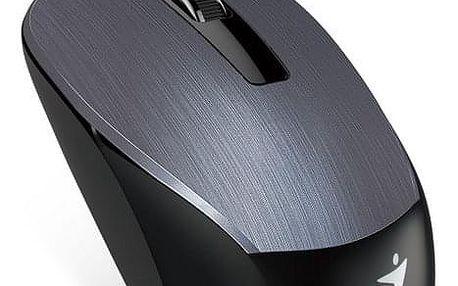 Myš Genius NX-7015 - kovově šedá (/ optická / 3 tlačítka / 1600dpi) (31030119100)