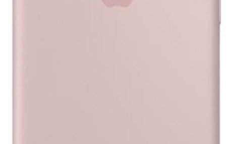 Kryt na mobil Apple Silicone Case pro iPhone 8/7 - pískově růžový (MQGQ2ZM/A)