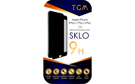 TGM 3D pro Apple iPhone 6+/7+/8+ černé (TGM3DAPIP7P8PBL)