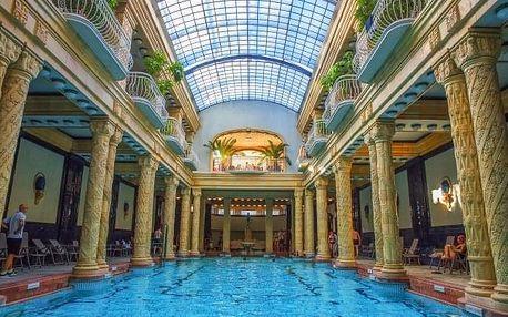 Budapešť v Hotelu Császár *** u centra se snídaní a vstupem do termálních lázní