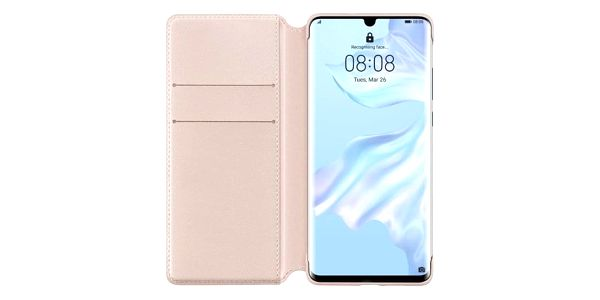 Pouzdro na mobil flipové Huawei Wallet Cover pro P30 Pro růžové (51992868)2