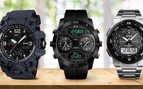 Designové vodotěsné pánské hodinky Gtup