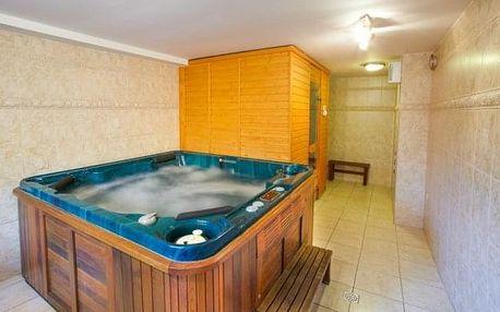 Valašsko v Hotelu Sirákov *** s privátním wellness s vířivkou + polopenze