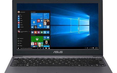 Notebook Asus VivoBook E203MA-FD017T šedý (E203MA-FD017TS)