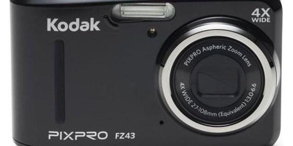 Digitální fotoaparát Kodak Friendly Zoom FZ43 černý (819900012224)