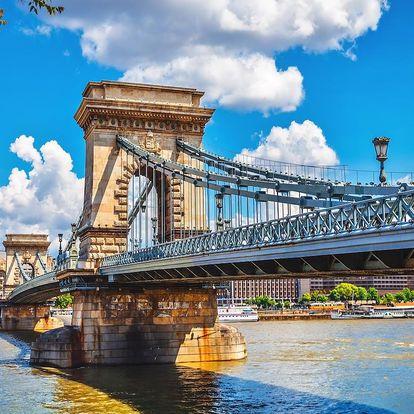 Nezapomentutelný výlet do Budapešti + 1x večeře