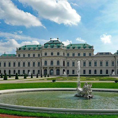 Okouzlující pobyt pro dva ve Vídni
