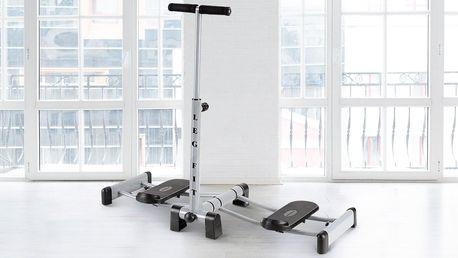 Skladný posilovací stroj: na nohy, hýždě i břicho