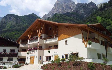Snění v Jižním Tyrolsku s polopenzí a wellness