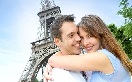 Nádherný víkend v Paříži v hotelu na Seině