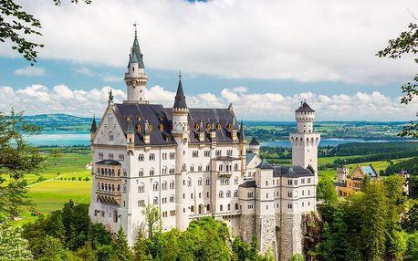 Romantická vila pod Alpami nedaleko pohádkového zámku Neuschwanstein