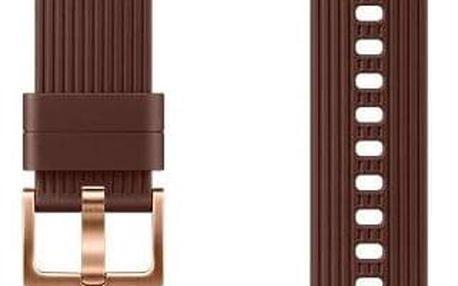 Samsung silikonový pro Galaxy Watch ET-YSU81M 20mm hnědý (ET-YSU81MAEGWW)