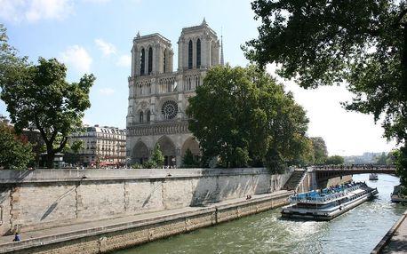 Romantický víkend v Paříži v moderním hotelu