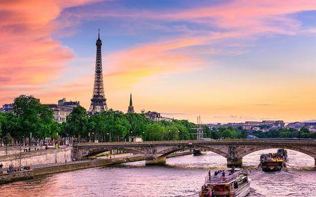 Kouzelný víkend v Paříži v hotelu se skvělou polohou