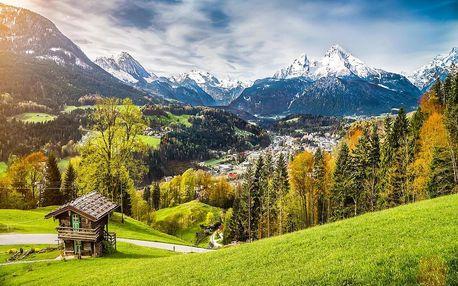 Alpy & Garmisch-Partenkirchen: lyžování, wellness vč. POLOPENZE