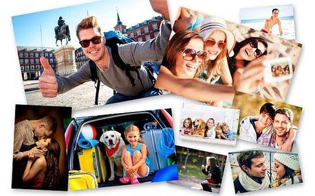 Tisk 5 či 10 ks vašich fotografií, vysoká kvalita, dva rozměry