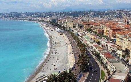 Léto v Nice na Azurovém pobřeží