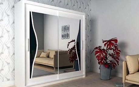 Šatní skříň Batumi 180 bílá