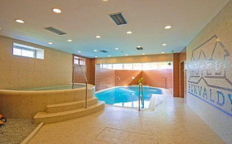 Beskydy v hotelu s bazénem, vířivkou, saunami a polopenzí