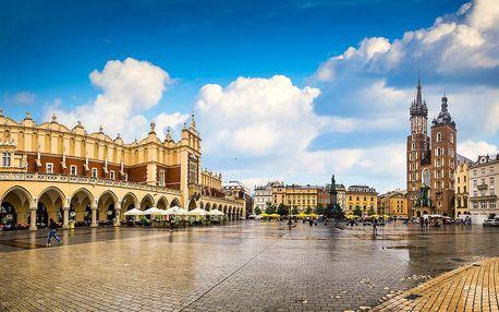 Skvělý pobyt v romantickém Krakově