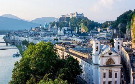 Moderní hotel v centru Salzburgu za skvělou cenu