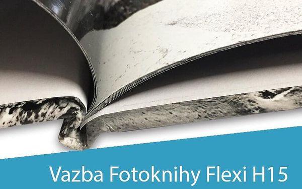 A4 fotokniha Flexi H15, 24 stran, pevná knižní vazba4