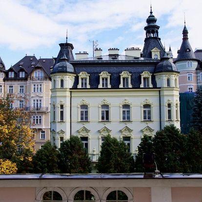 Lázeňský pobyt v překrásných Karlových Varech