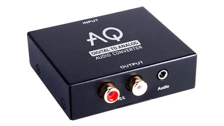 DAC převodník AQ AC01DA černý (6ac01da)
