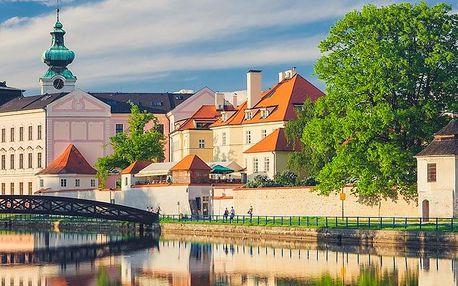 Jižní Čechy v apartmánu v Českých Budějovicích s wellness i snídaní