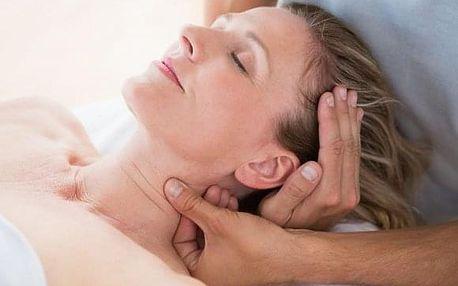 Přístrojová lymfodrenáž a relaxační indická masáž hlavy