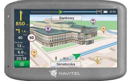 Navigační systém GPS Navitel E505 Magnetic černá
