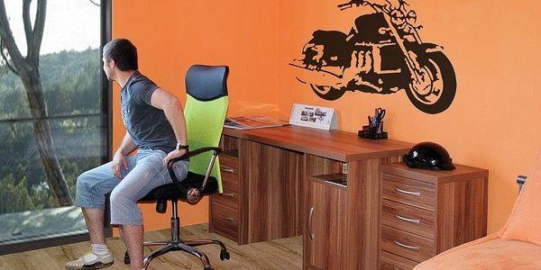 Psací stůl JAMES UNIVERZÁLNÍ C065 L-olše4