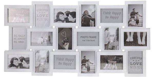 Emako Obdélníkový rámeček - pro 18 fotek