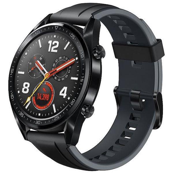 Chytré hodinky Huawei Watch GT Sport (55023259) černé + DOPRAVA ZDARMA2