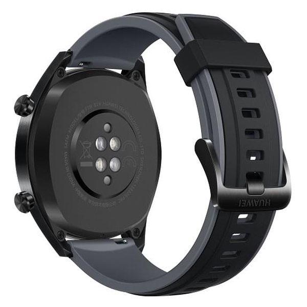 Chytré hodinky Huawei Watch GT Sport (55023259) černé + DOPRAVA ZDARMA3