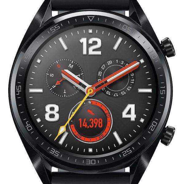 Chytré hodinky Huawei Watch GT Sport (55023259) černé + DOPRAVA ZDARMA4