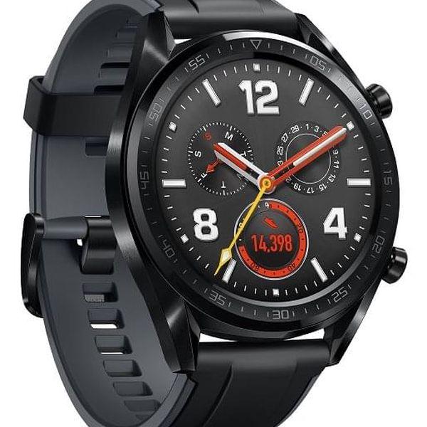 Chytré hodinky Huawei Watch GT Sport (55023259) černé + DOPRAVA ZDARMA5