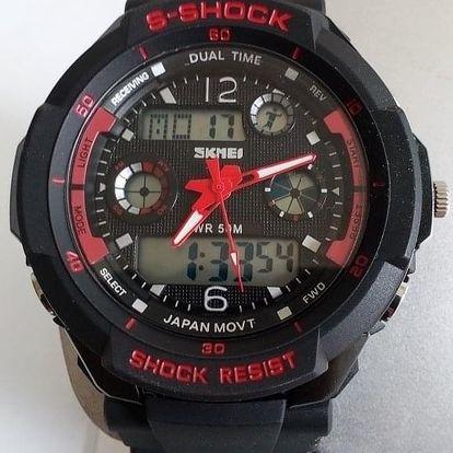 Pánské sportovní hodinky ve 3 barvách, možnost osobního odběru