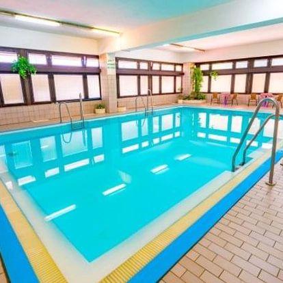 Luhačovice v Hotelu Adamantino *** s polopenzí + bazén a sauna neomezeně