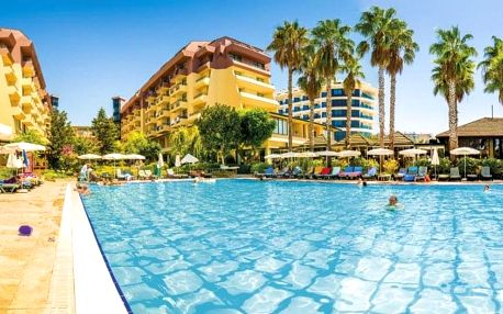 Turecko - Alanya letecky na 8-9 dnů, all inclusive